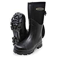 Dirt Boots Neoprene Wellington Muck Field Boots Adjustable Gusset Unisex Wellies