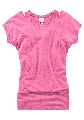 Bench-Maglietta Thenagain Top per Donna rosa XS