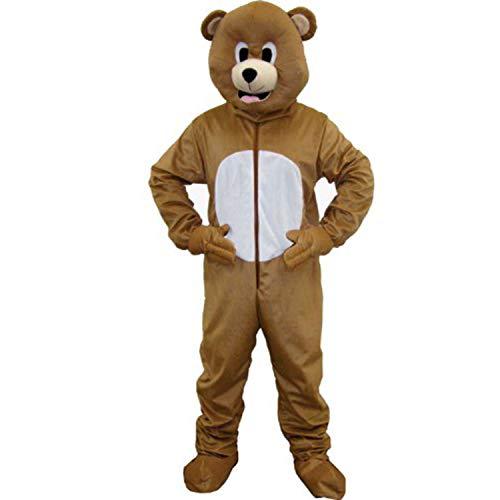 Dress Up America Braunbär Maskottchen für Erwachsene (Braunbär Kostüm Kleinkind)