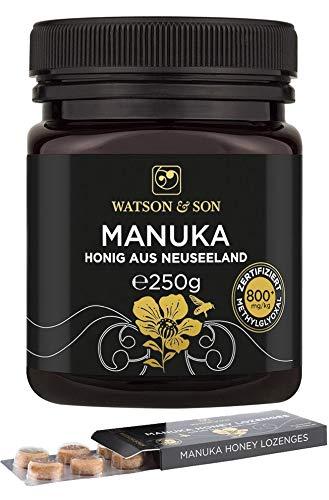 Watson & Son Manuka Honig MGO 800+ 250g + Manuka Lutschbonbons 20g MGO 400+ (Manuka-honig Umf 20)