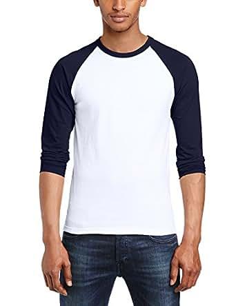 Fruit of the Loom Men's Baseball Raglan Long Sleeve T-Shirt ...