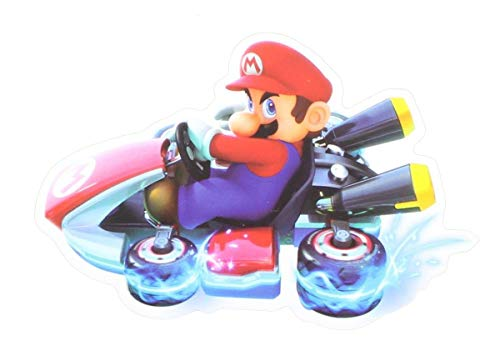 Nintendo Mario Kart 4-Inch Auto Magnet