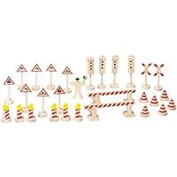 Goki Toys Pure WM380 - Señales de tráfico para modelismo