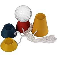 Trendyest 4in1Tees de Golf en Caoutchouc Winter Tee Lot DE 33mm de Golf d'entraînement Kits