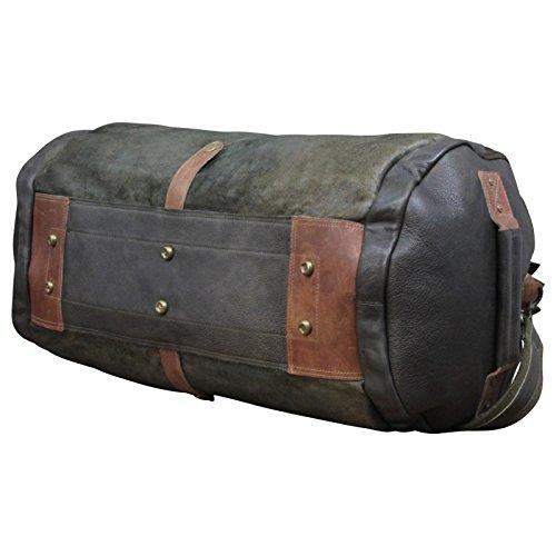 Desiderius Herren Weekender Tasche Gaius black DESS170429 Olive