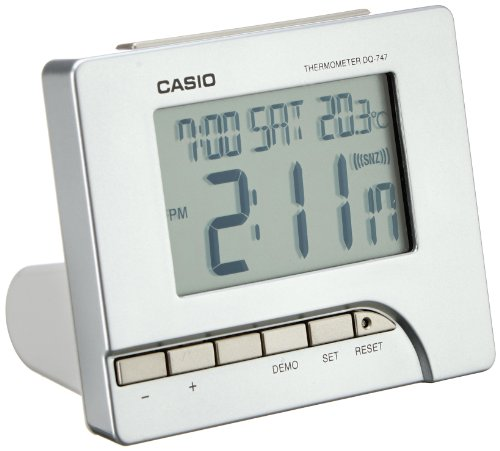 Casio Wake Up Timer – Digitaler Wecker – DQ-747-8EF