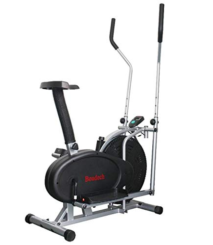 Bici Cyclette ellittica Stepper Cross Trainer con Schermo LCD e Software di monitoraggio...