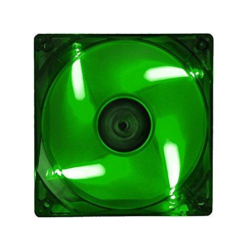 ITEK Ventola per case Xtreme Flow - 12cm, LED Verde, 3+4pin, silenziosa