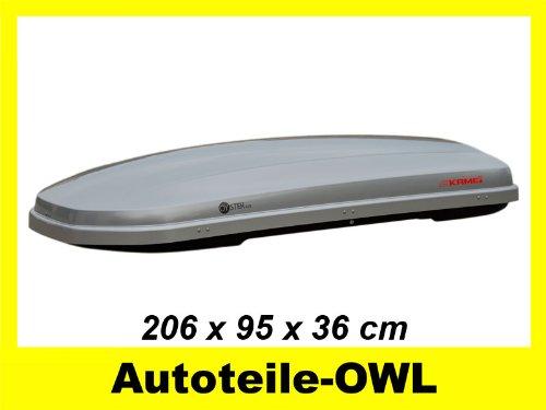 Preisvergleich Produktbild Kamei Dachbox Oyster 450 silber 450 L Duo Lift