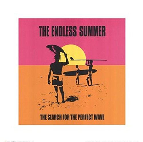 Endless Summer - Classi Poster Drucken (40,64 x 40,64 cm) (Drucken Summer Endless)