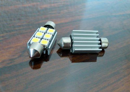 2 x high Power SMD Kennzeichenbeleuchtung VW Golf 3 + 4, Bora, Lupo, Polo 6N 9N