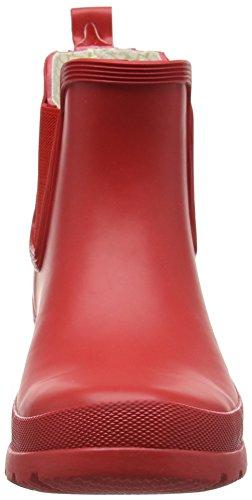 ROMIKA Romirub 10, Bottes en caoutchouc non-fourrées, tige basse femme Rouge - Rouge (400)