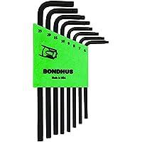 Bondhus 32432 Serie Chiavi Piegate Impronta Torx con Foro Antimanomissione