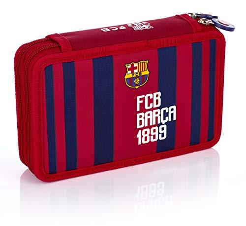 226847eb14 FC Barcelona - Federtasche Doppelt 2w Fc-187 Barca Fan 6, Carteras Niños,