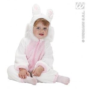 WIDMANN disfraz de Niños Unisex One Size Bianco/Rosa