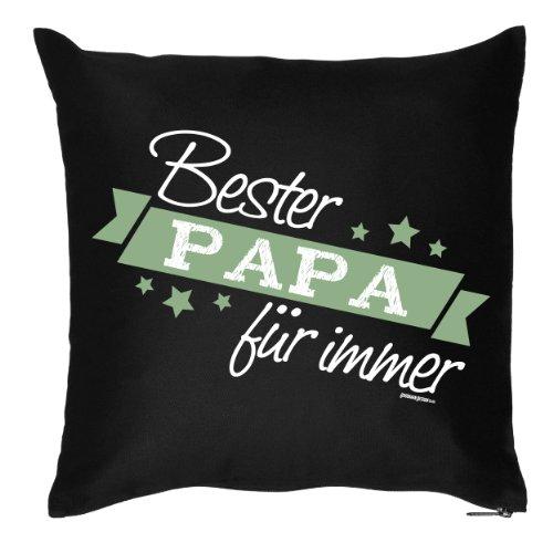 Cuscino/cuscino decorativo con imbottitura per papas: bester papa per sempre