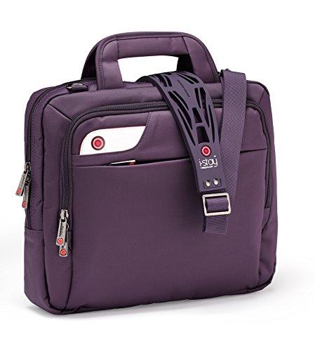 I-Stay Netbook Tasche 33,8 cm 13,3 Zoll lila | is0127 | Hülle geeignet für Laptop, Notebook, Messenger, Organizer | von I Stay (Design-damen-notebook-tasche)