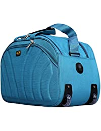 Winsome 51H Polyester Duffel 2 Wheel Soft Luggage Waterproof Bag (Sea Green 20 Inches)