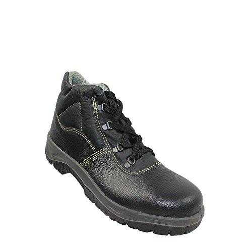 Aimont berufsschuhe businessschuhe chaussures de sécurité s1P chaussures de trekking (noir) Noir - Noir