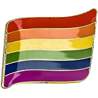 Rainbow orgullo Gay bandera Metal Pin badge