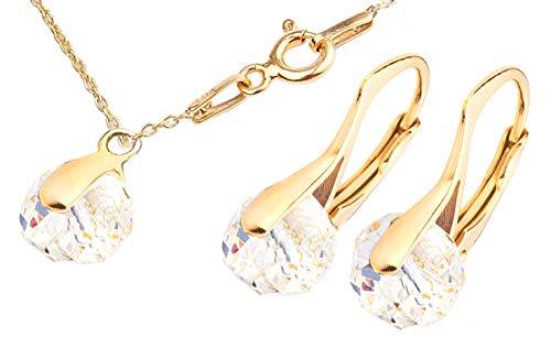 Ah. Joyas Cristales Swarovski® Briolette 2pcs Graceful