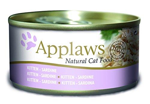 Applaws Dose Kitten Sardine, 24er Pack (24 x 70 g)