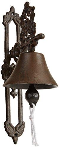 Esschert Design, Türglocke Klassik Antik braun, 13 x 26 x 20 cm, CB1