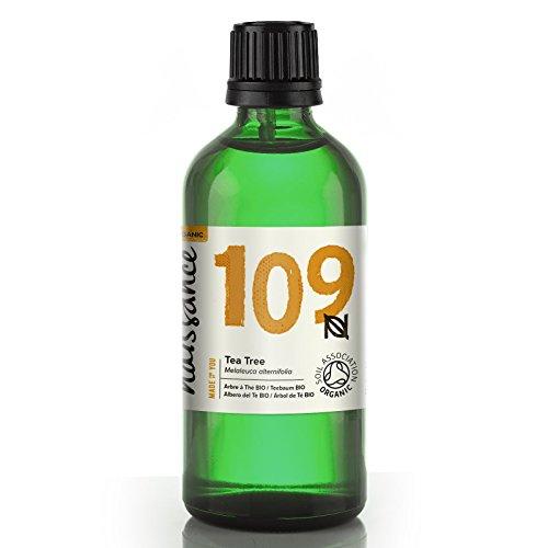Naissance Teebaumöl BIO (Nr. 109) 100ml – Australisch – 100% naturreines ätherisches Öl, natürlich, bio-zertifiziert, vegan
