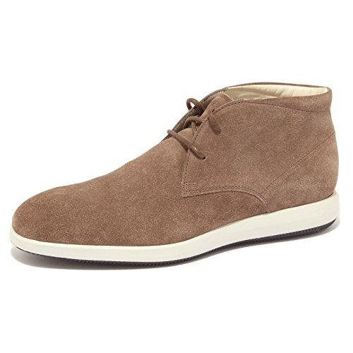 6147R polacchino uomo HOGAN DERBY scarpa tortora boot shoe man [7.5]