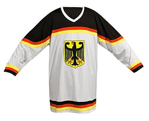 SPORTTEAM Fvdres-de-1 T-Shirt Mixte Adulte, Blanc/Noir, FR : XL (Taille Fabricant : XL)