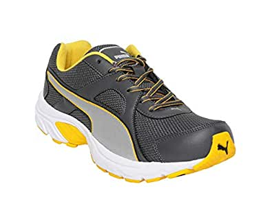 Puma Men's Hercules IDP Silver-Spectra Yellow PSlvr-S Yllw-Asphlt Sneakers-9UK/India (43 EU) (4060979581883)