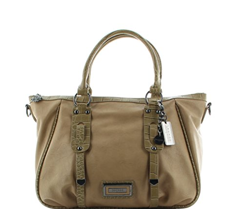 Bagsac Shopper S421397 elf Zoll Tabletfach Arifa - Beige