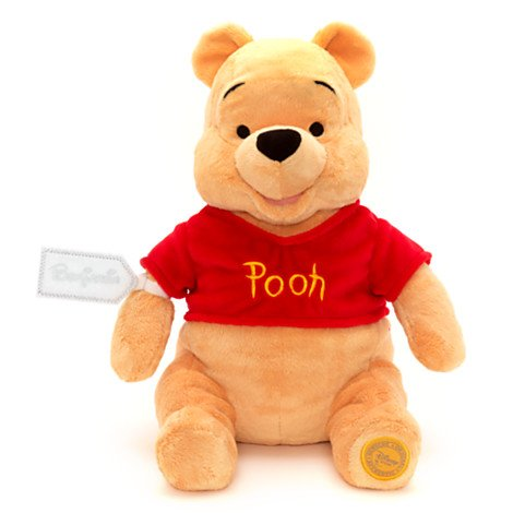Official disney winnie the pooh medium soft toy by disney