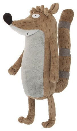 "Regular Show - Rigby 11""/28cm sitting and standing 13""/35cm"