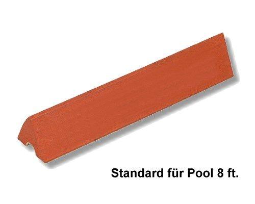 Las bandas goma, estándar piscina-mesa billar 2.44
