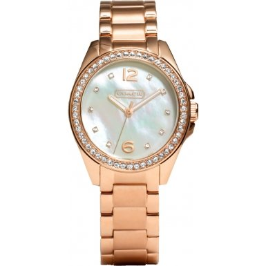 Coach 14501658 Ladies Tristen Rose Gold Plated Watch