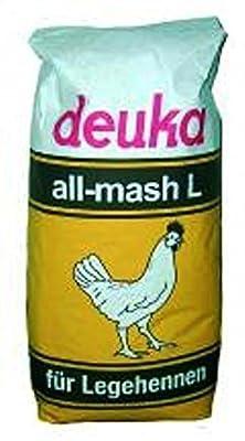 Deuka all-mash L gekörnt Alleinfuttermittel für Legehennen 25 KG von deuka auf Du und dein Garten