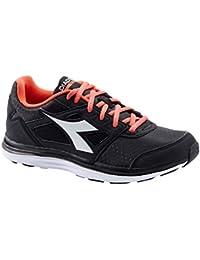 Diadora Kuruka W, chaussures de course femme - multicolore - C0787 NERO/ARGENTO, 40 EU EU
