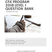 2018 CFA Level 1 Question Bank (Set of 2 books - question bank and Answer set) For June and December 2018 Exams covers CFA Institute Curriculum revision and CFA practice questions and CFA Calculator practice