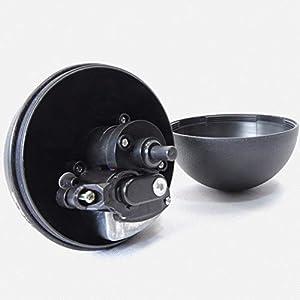 Mallallah Magic Balle Jouet Electronique Chat Chien Roulant Boule Automatique 4 Peluches Couvercles Pet Chiot Jouet Interactif diametre 8cm
