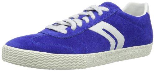Geox U Smart E, Baskets mode homme Bleu (Blue)
