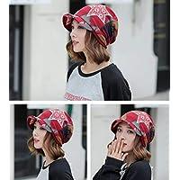 LIGYM Sombrero,Mujer,Sombrero Baotou,Gorra,Gorra del Mes,Gorra del suéter