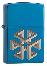 Zippo Briquet en Laiton Design Individuel Taille Unique