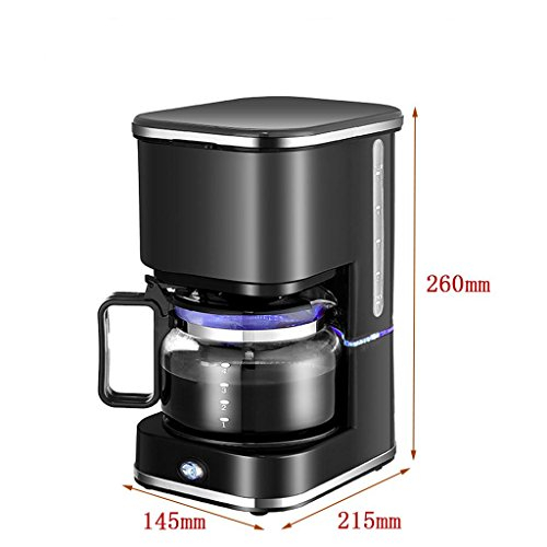 Home semi – automatic coffee machine Small coffee machine Tea, coffee, dripping coffee machine