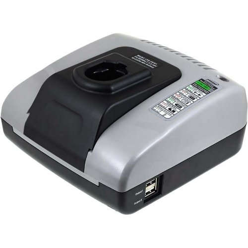 Preisvergleich Produktbild akku-net Akku-Ladegerät mit USB für Würth Akkuschrauber BS12-A Combi, 7,2V-18V