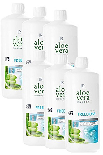 NB24 Versand LR Aloe Vera Drinking Gel Freedom, Sixpack 6 x 1000 ml (80856-180)