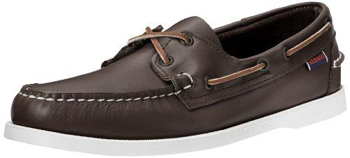 Sebago DOCKSIDES Herren Bootsschuhe, Rot( Wein Leder), 46 EU (11.5 US) - Dockside Casual Schuhe