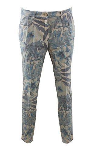 ALORENNF7010 Kocca Pantalone a fantasia Multicolor 28 Donna