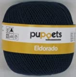 Puppets eldorado 50g Farbe: 4289 - dunkelblau - Häkelgarn Stärke 10