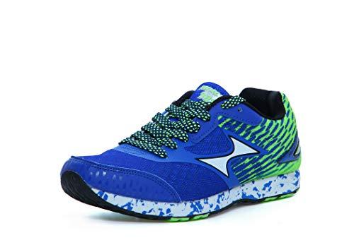 Running/Jogging Shoes Blue & Green_ H 708-1